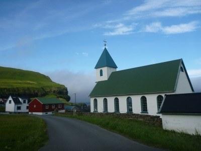 Gjogv Village Church