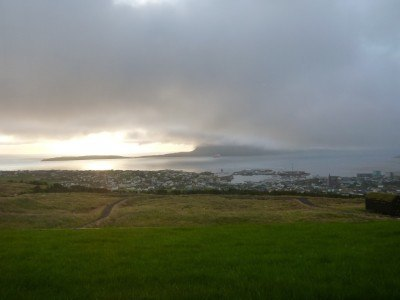 View from my room over Torshavn