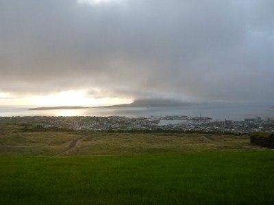 View from my room over Torshavn
