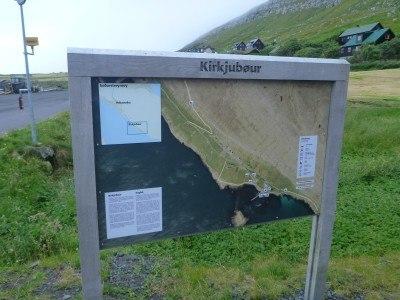 Arrival in Kirkjubour, Streymoy, Faroe Islands