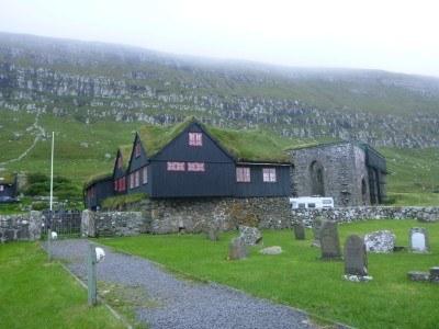 Backpacking in Kirkjubour, Streymoy, Faroe Islands