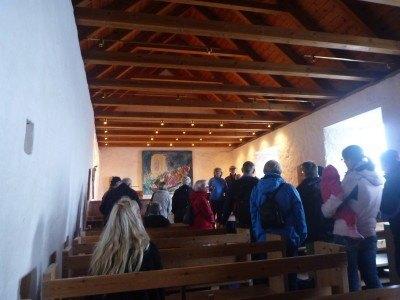 Inside St. Olav's Church, Kirkjubour