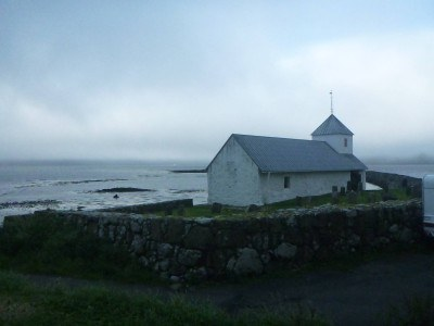 Exploring Kirkjubour, Streymoy, Faroe Islands