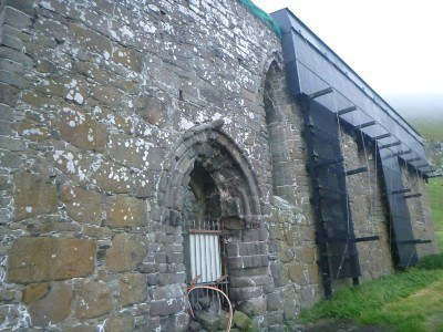 Mururin/ Magnus Cathedral, Kirkjubour, Streymoy, Faroe Islands
