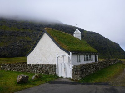 Saksun church, Streymoy, Faroe Islands