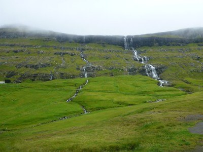 Waterfalls at Saksun, Streymoy, Faroe Islands