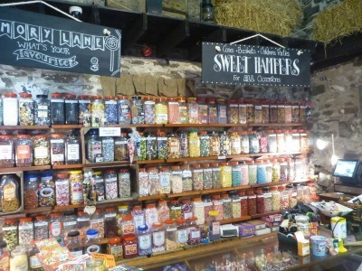 Vintage sweet shop at McKee's