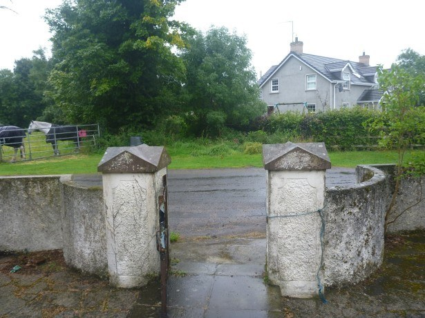 This gate is the Four Gables border crossing