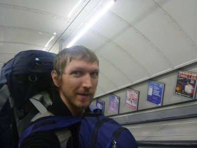 London backpacking
