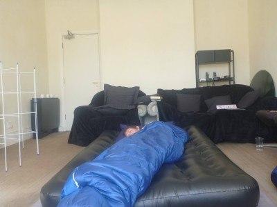 My new sleeping bag the Snugpak