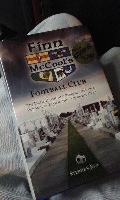 Stephen Rea's book - Finn McCool's Football Club