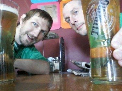 Meet us for a pint!