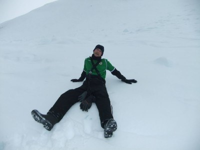 Chilling out in Antarctica