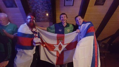 Northern Ireland are going to France