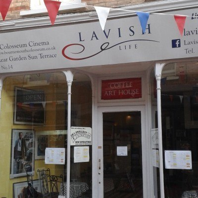 In Lavish Cafe, the UK's smallest cinema