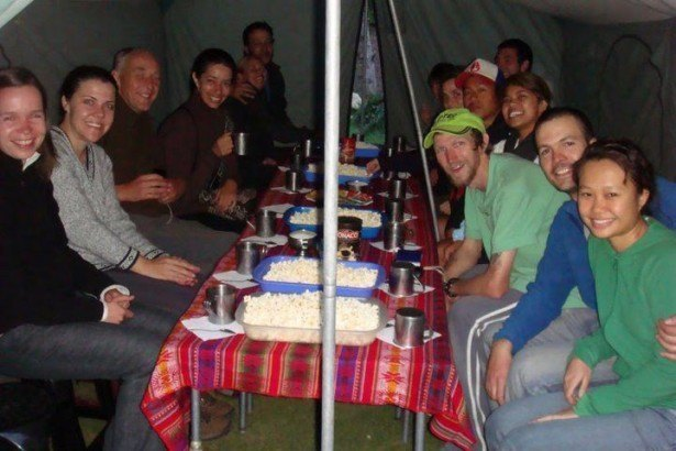 Jonny Blair of Dont Stop Living on the Inca Trail in Peru