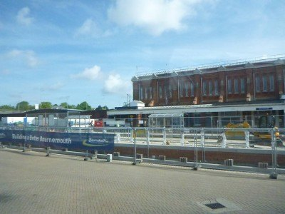 Bournemouth bus and train station is a 3-4 minute walk from the Lea Hurst