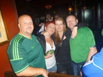 End of the night in the Irish Pub