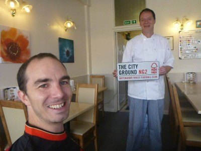 Robert Taylor, Forest fan and head chef at Piggies in Westbourne