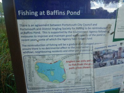 Fishing at Baffin's Pond