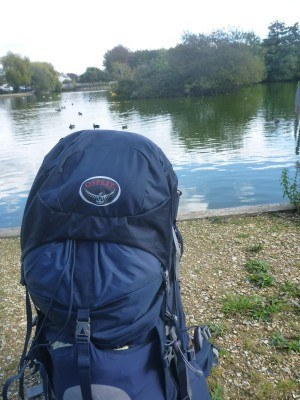 I also took my backpack across the border into the Lagoan Isles, but only for a few seconds
