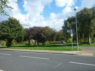 The corner at Neville Road