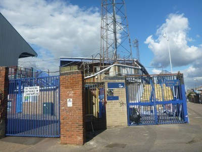 Fratton Park, home of Portsmouth FC