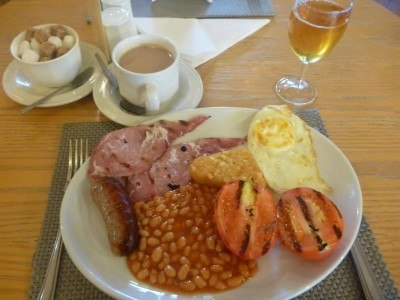 My full English Breakfast at the Cottesmore