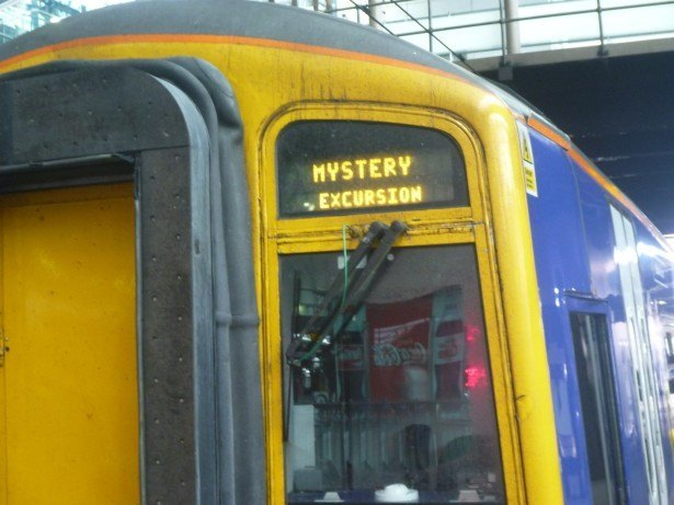 "My train was a ""Mystery Excursion"" to Adammia."
