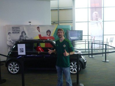 Touring the Football Museum in Manchester - George Best's last ever car