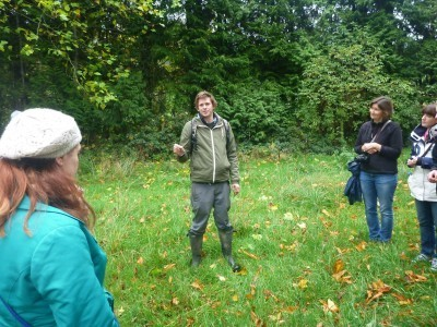 Foraging for food with Nick Weston of Hunter Gather Cook