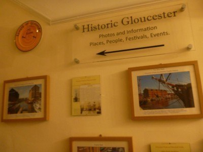 The charming Edward Hotel in Historic Gloucester, England