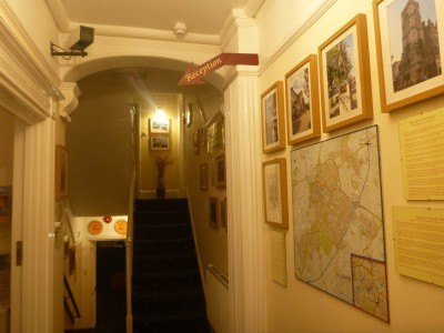 The maze inside the Edward Hotel begins
