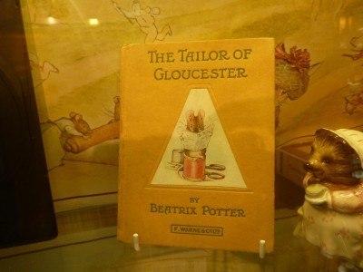 Touring Beatrix Potter's Tailor Shop