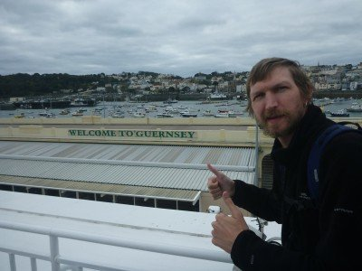 Arrival in Guernsey - good memories