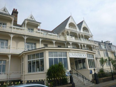 Staying at the Ommaroo Hotel in St. Helier Jersey