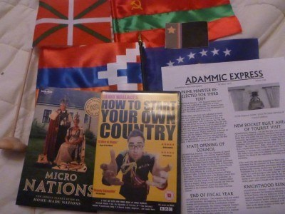 Some of my souvenirs from the wacky unknown countries adventures recently