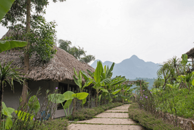 Views from Mai Chau Ecolodge
