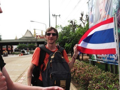 Cambodia to Thailand border