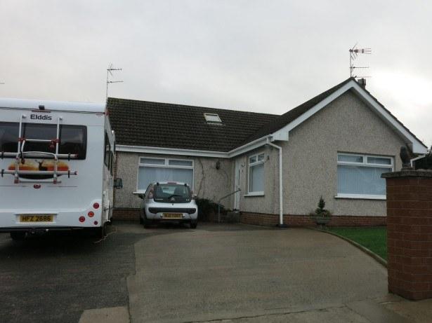 My childhood home in Marlo Drive, Bangor, Northern Ireland