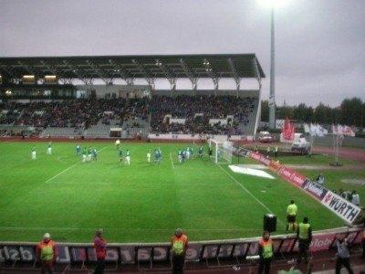 National Football Stadium in Reykjavik, Iceland