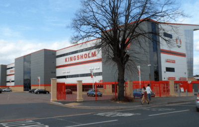 The Kingsholm rugby stadium in Gloucester