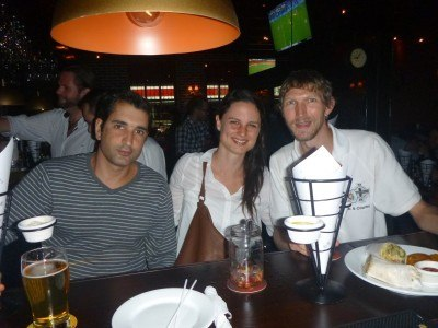 A night out with Sigana in San Jose, Costa Rica