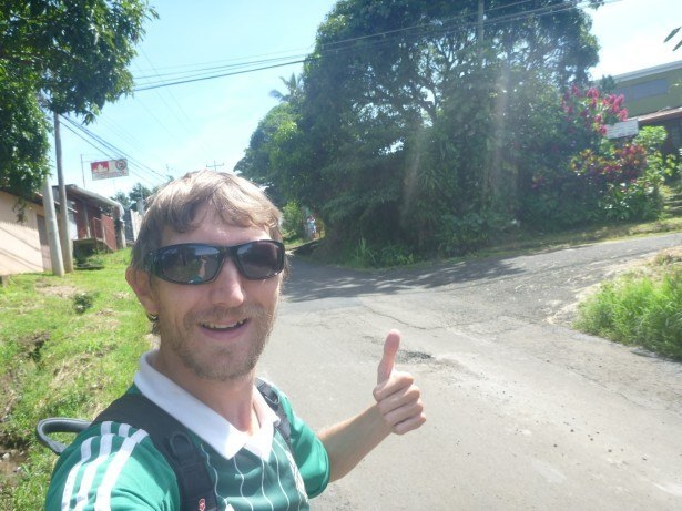 Backpacking alone through rural Costa Rica