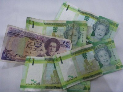 Jersey banknotes