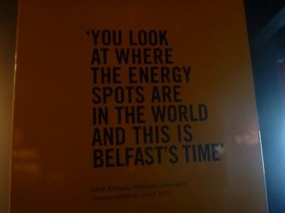 This is Belfast's time