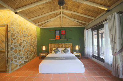 Luxury Rooms at Mai Chau Ecolodge