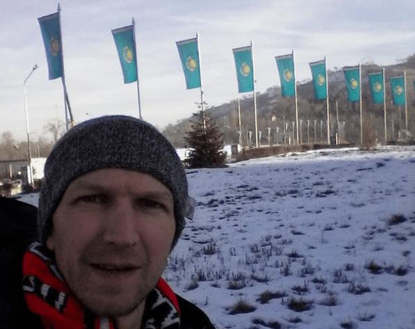 Alone in Almaty, Kazakhstan on Christmas Eve 2015