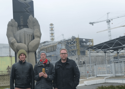 Backpacking in Chernobyl: At Reactor Number 4