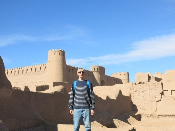 Touring Rayen in Iran.